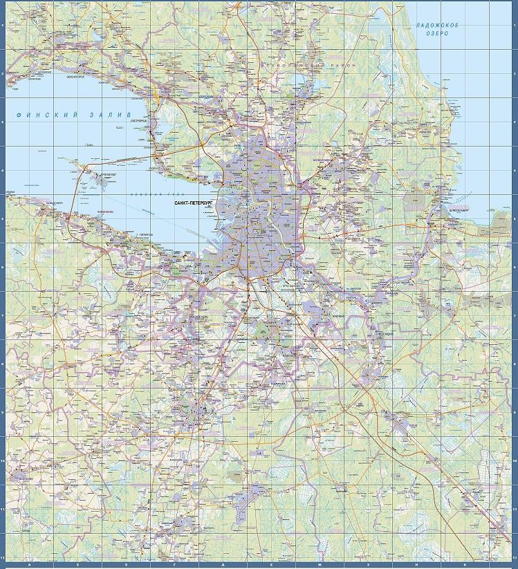 """Карта """"Окрестности"""
