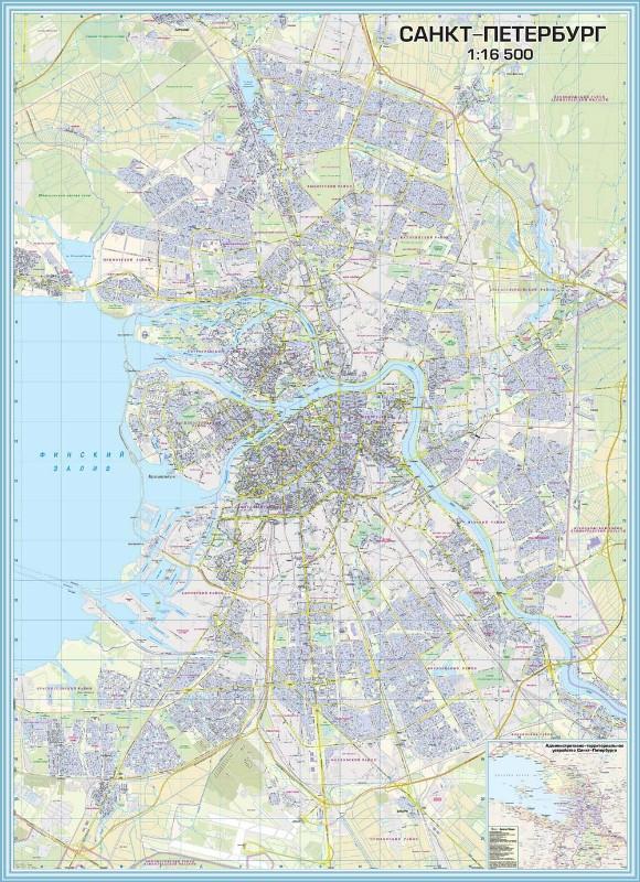 Карты Санкт-Петербурга (карта)